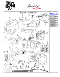 Service Manual DirtDevil SD30040CS