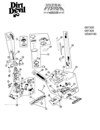 Manual de serviço DirtDevil 087300