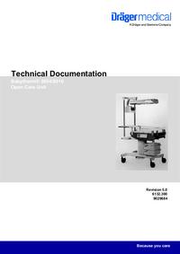 Instrukcja serwisowa Dräger Babytherm® 8010