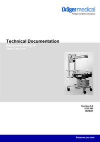 Manual de serviço Dräger Babytherm® 8004