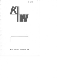 Service and User Manual DrKWitmerElectronic IC Triple 100