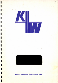 DrKWitmerElectronic-9246-Manual-Page-1-Picture