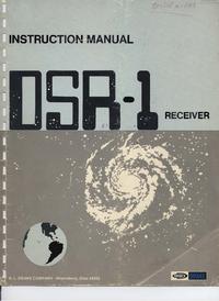 Servicio y Manual del usuario Drake DSR-1