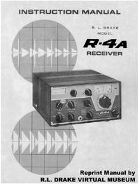 Service- und Bedienungsanleitung Drake R-4A