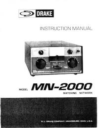 Service Manual Drake MN-2000
