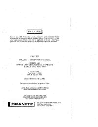 Bedienungsanleitung Dranetz 646-1