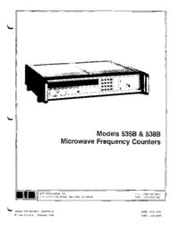 Servicio y Manual del usuario EIP 535B