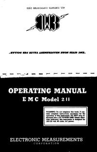 Manuale d'uso EMC 211