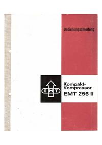 Service-en gebruikershandleiding EMT EMT 256 II
