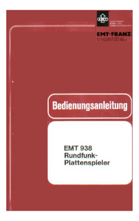 Serwis i User Manual EMT 938