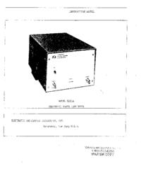 Servizio e manuale utente ENI 525LA