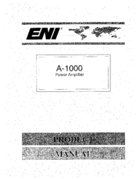 User Manual ENI A-1000