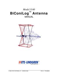 Manual del usuario ETS 3140