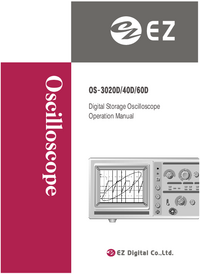 Manual del usuario EZDigital OS-3060D