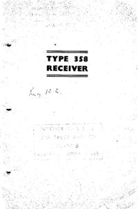 Servizio e manuale utente Eddyston 358