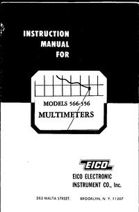 Serviço e Manual do Usuário Eico 566