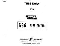 User Manual Eico 666