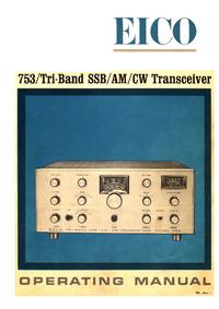 Serviço e Manual do Usuário Eico 753