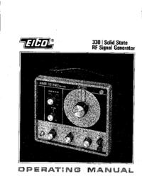 Servizio e manuale utente Eico 330