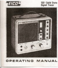 Service and User Manual Eico 150