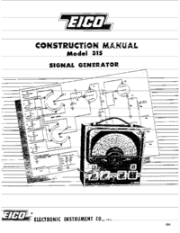 Service and User Manual Eico 315