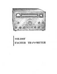 Service and User Manual Eldico SSB-100F