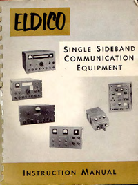 Service and User Manual Eldico SSB-1000