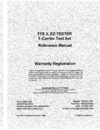 Manual del usuario Electrodata TTS 3