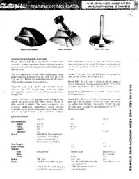 Gebruikershandleiding ElektroVoice 419