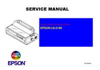 Руководство по техническому обслуживанию Epson LQ-2180