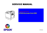 Service Manual Epson AcuLaser Color 2000