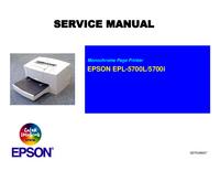 Service Manual Epson EPL-5700i