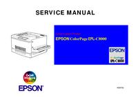 manuel de réparation Epson ColorPageEPL-C8000