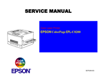 Manual de servicio Epson ColorPage EPL-C8200
