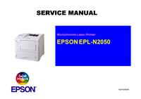 Service Manual Epson EPL-N2050