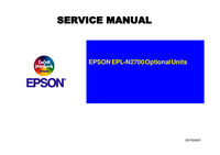 Manual de servicio Epson N2700 Optional Units