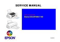 Service Manual Epson COLOR 860