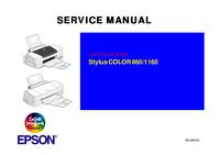 Servicehandboek Epson COLOR 1160