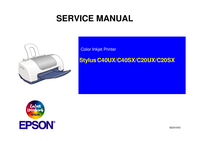 Serviceanleitung Epson Stylus C20UX