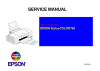 Service Manual Epson Stylus COLOR 760