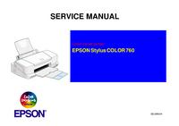 Manual de servicio Epson Stylus COLOR 760