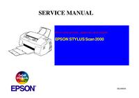 manuel de réparation Epson STYLUS Scan 2000