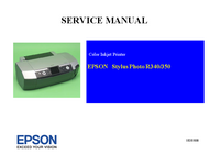 Manual de servicio Epson Stylus Photo R340