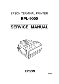 Serviceanleitung Epson EPL-9000