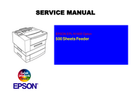 Manual de serviço Epson EPL-N1600 Option 500 Sheets Feeder