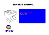 manuel de réparation Epson EPL-N1600 Option Duplex Unit