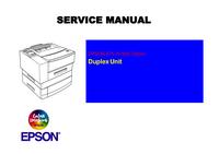 Manuale di servizio Epson EPL-N1600 Option Duplex Unit