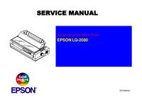 Manual de serviço Epson LQ-2080
