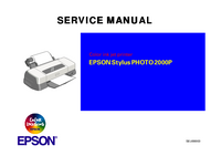 Service Manual Epson Stylus PHOTO 2000P
