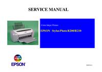 manuel de réparation Epson Stylus Photo R210